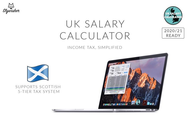 UK Salary Calculator Screenshot
