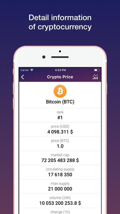 Crypto Price Pro screenshot-3