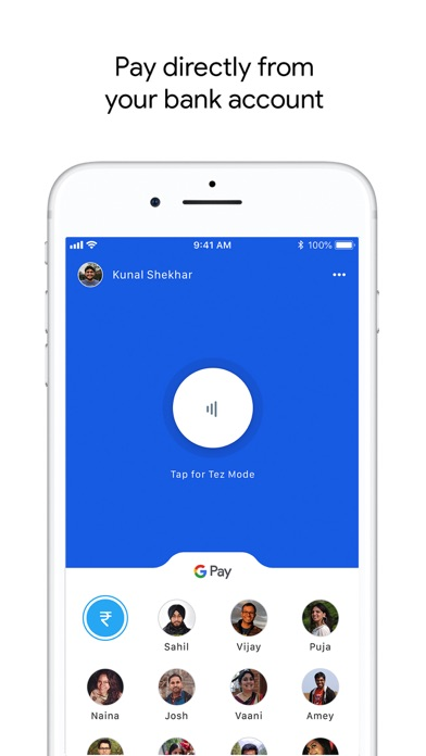 Screen Shot Google Pay for India (Tez) 0