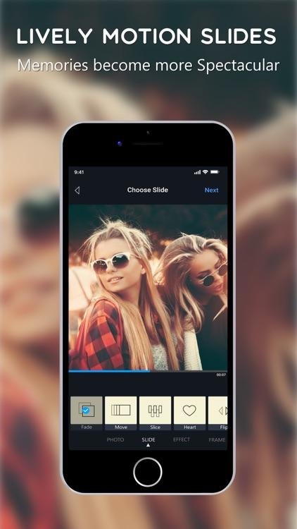 Vimory - Photo Video Maker screenshot-5