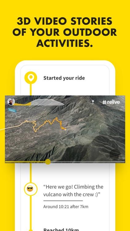 Relive: Run, Ride, Hike & more screenshot-0