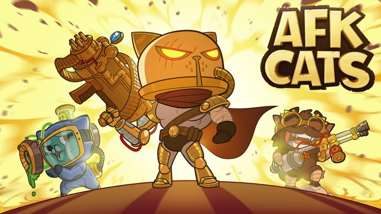 AFK Cats: Idle RPG Boss Arena