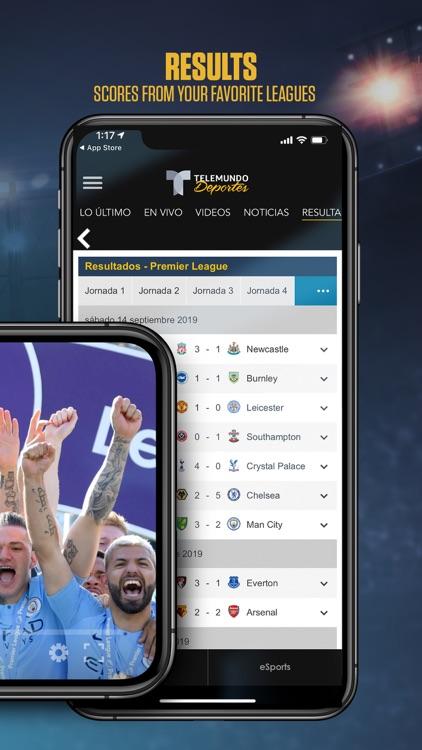 Telemundo Deportes: En Vivo screenshot-3