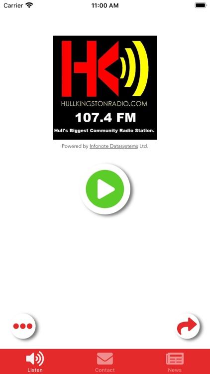 Hull Kingston Radio 107.4FM