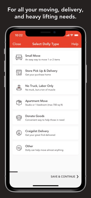 Dolly: Moving & Delivery Help on the App Store