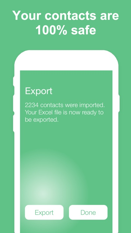 Export Contacts to Excel screenshot-3