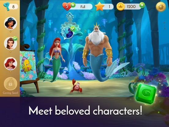 Disney Princess Majestic Quest screenshot 10