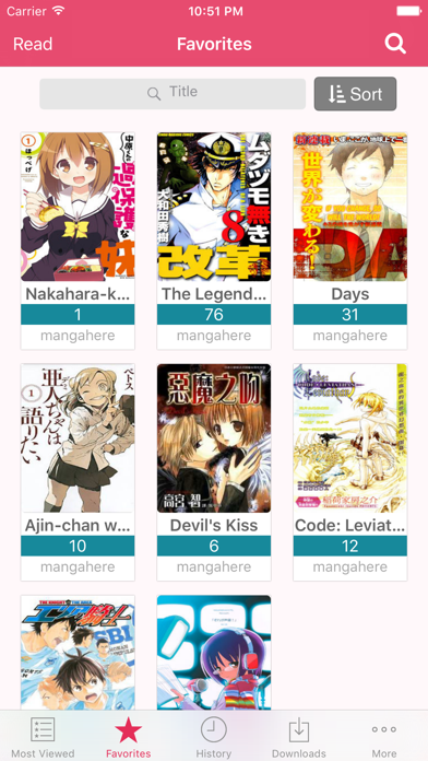 Screen Shot Manga Reader - Manga Viewer 2