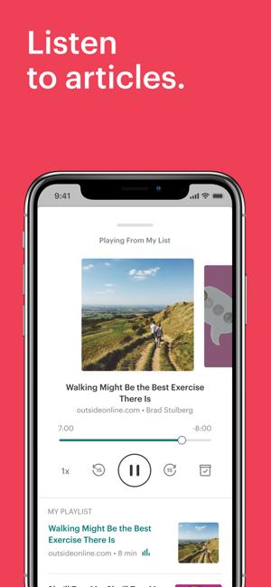 Pocket: Save. Read. Grow. Screenshot