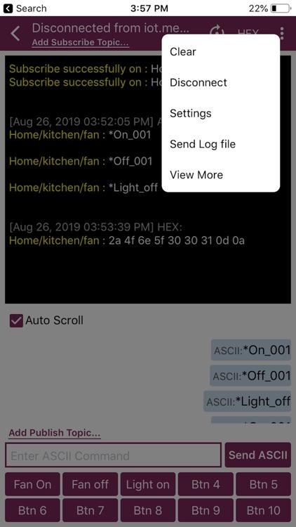 MQTT Terminal Pro screenshot-6