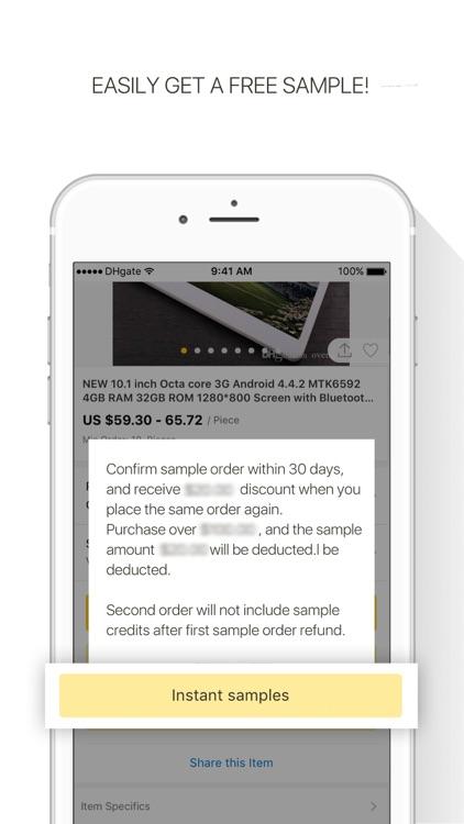 DHgate-Online Wholesale Stores screenshot-4