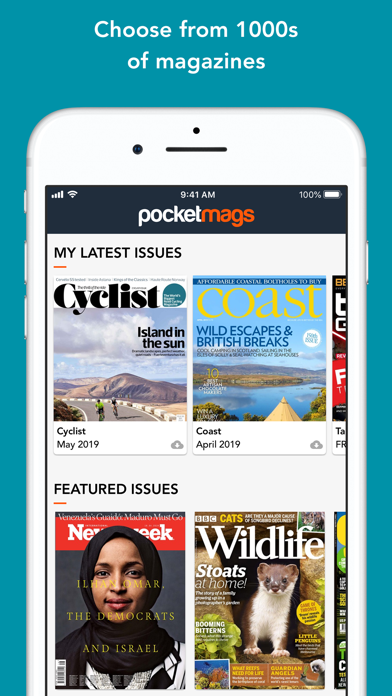 Pocketmags Digital Newsstand by MagazineCloner com Limited