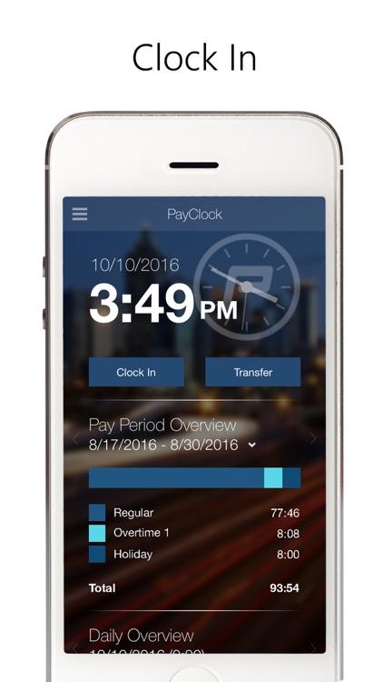 PayClock screenshot-0
