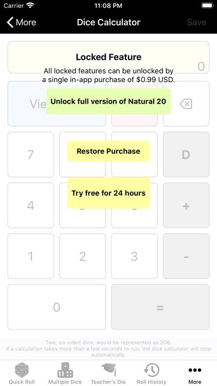 Natural 20 Lite App screenshot-6