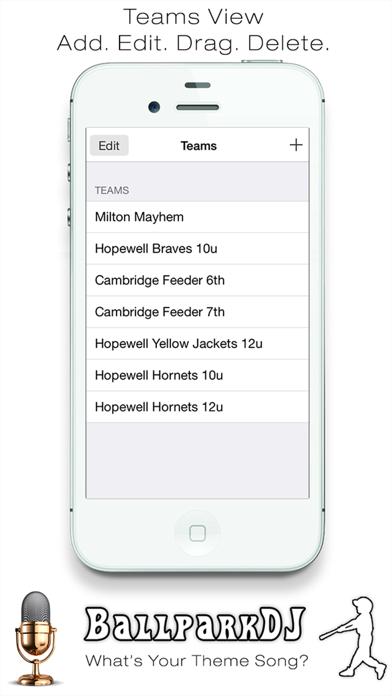 BallparkDJ Screenshot