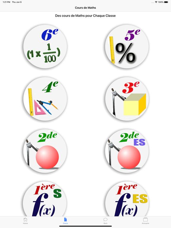 Cours de Maths screenshot 11