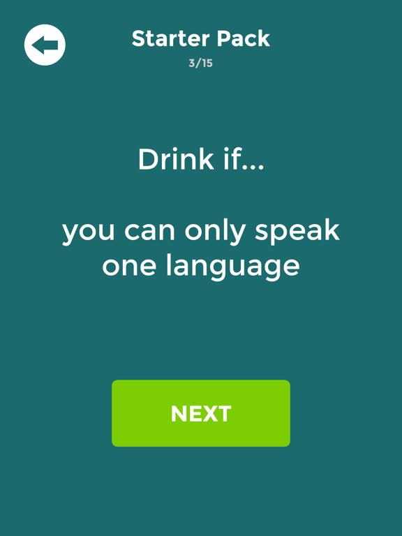 Drink If: Buzzed Drinking Game screenshot 6