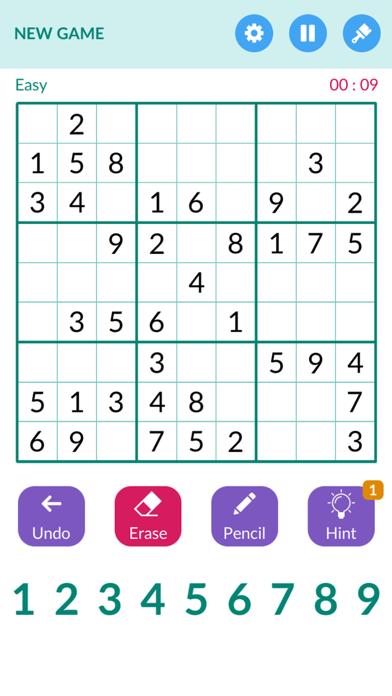 Sudoku1000 -Number puzzle game screenshot 1