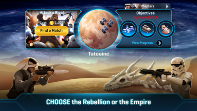 Star Wars™: Commander Screenshot on iOS