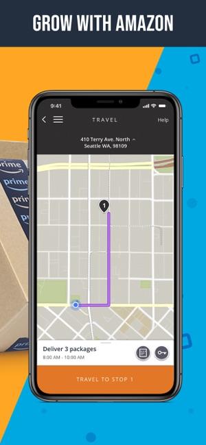 Amazon Flex on the App Store