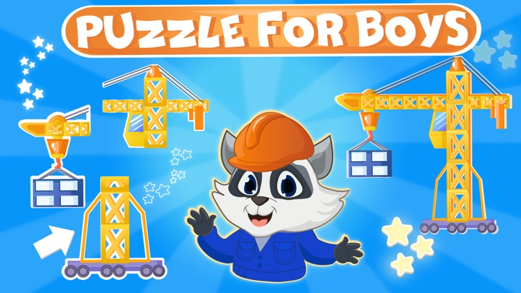 Cars jigsaw puzzle kids game