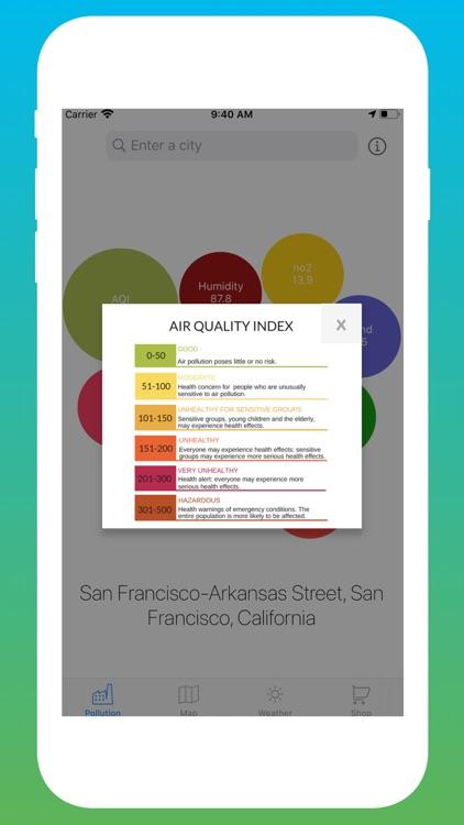 Air Quality Tracker: Pollution screenshot-4