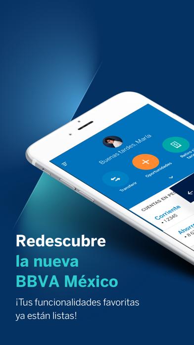 Screenshot #1 pour BBVA México (Bancomer Móvil)