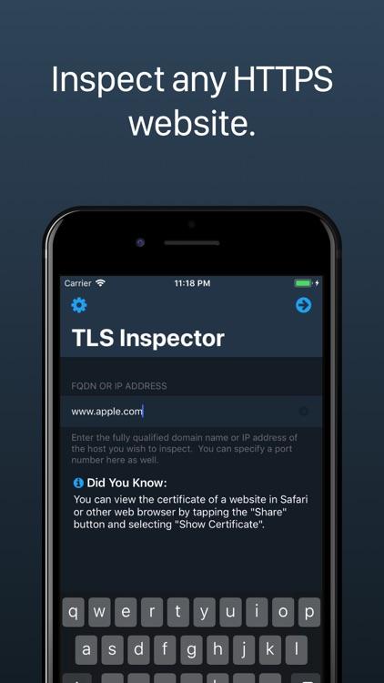 TLS Inspector