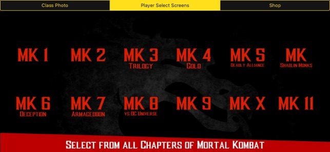 Fatalities of MK on the App Store