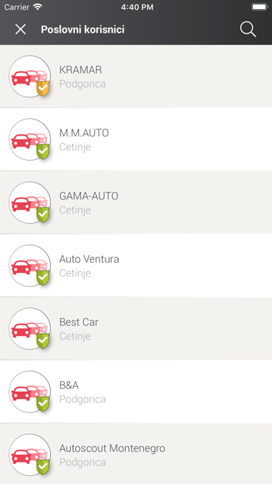 MNE Cars