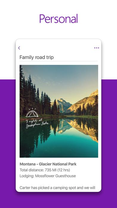 Microsoft OneNote app image