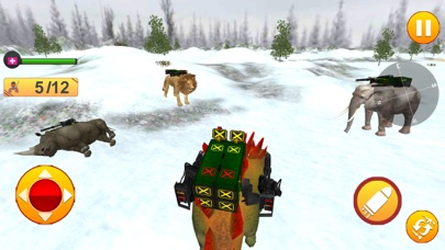 Animal Battle Dinosaur Games screenshot 1