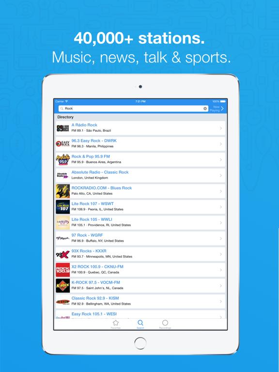 Simple Radio - Live AM & FM Radio Stations screenshot