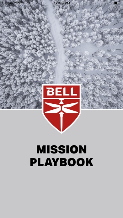 Bell Mission Playbook screenshot one