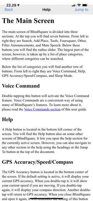 BlindSquare on the App Store