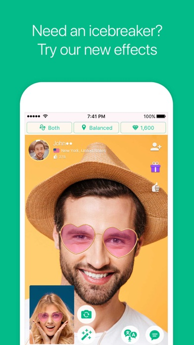 Azar - Video Chat, Discover Screenshot