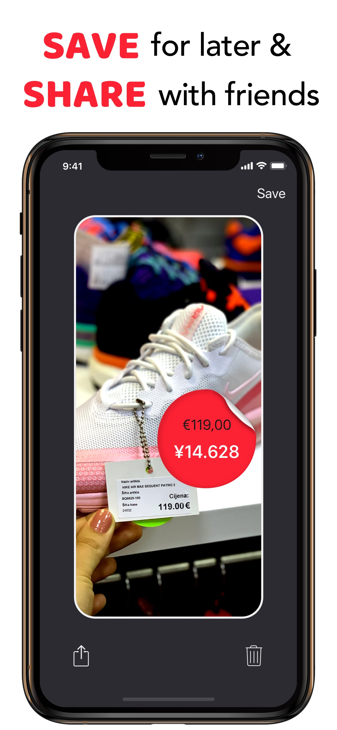 Screenshot do app Travel Price AR