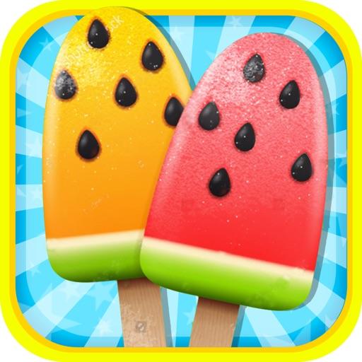 Ice Popsicle Mania: Cream Soda