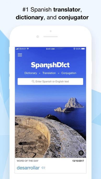 SpanishDict Translator screenshot-0