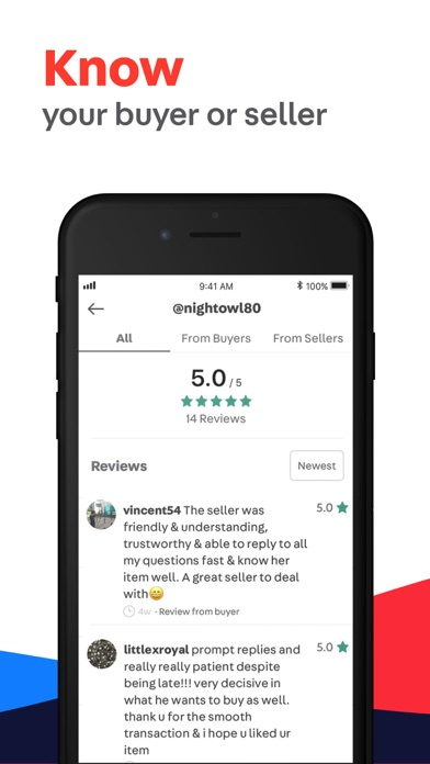 Carousell review screenshots