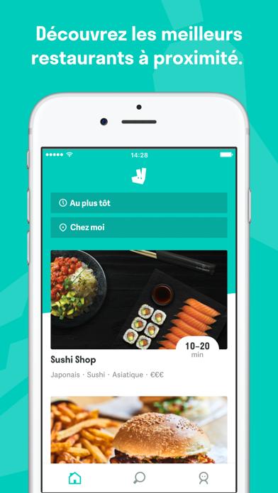 Télécharger Deliveroo pour Android