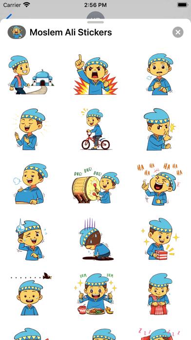 Moslem Ali Stickers screenshot 2