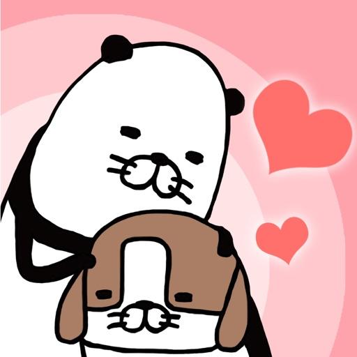 Panda and Dog: AnywhereDogCute icon