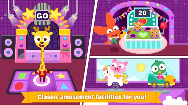 Papo Town Amusement Park screenshot-4
