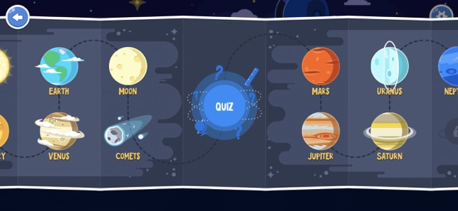 ‎Star Walk Kids - Guia do céu Screenshot