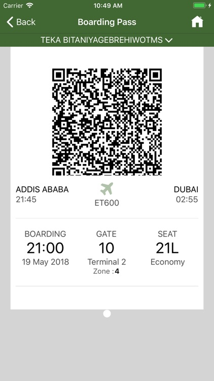 Ethiopian Airlines screenshot-5