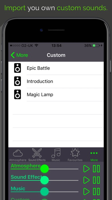 RPG Sounds: Fantasy by SuperFly Games Ltd (iOS, United