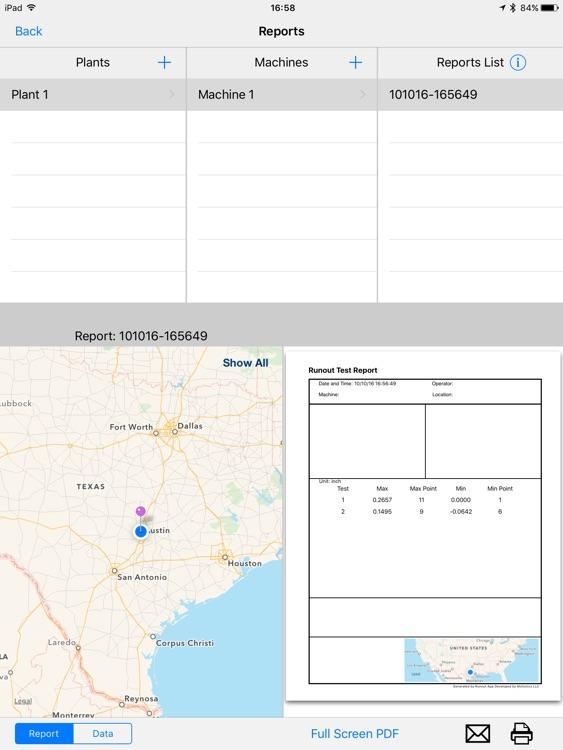 Wireless Rotor Runout Test screenshot-4