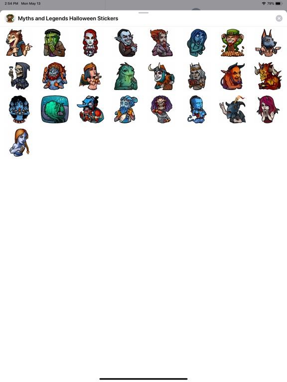 Myths and Legends Stickers screenshot 4