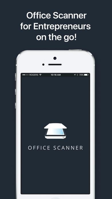 Office Scanner Quick Crop PDF screenshot one
